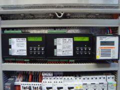 Mikroprozessorsteuerung eines Druckluftpumpwerkes - System Oekermann