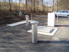 Pneumatische Abwasser-Förderanlage im ländlichen Raum in Bayern