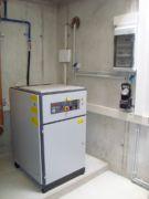 Pneumatische Abwasser-Förderung - Schraubenkompressor - System Oekermann