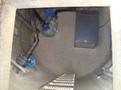 Pneumatische Abwasserförderanlage - Kompaktanlage für Einzelhäuser