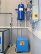 Pneumatische Steuerung eines Druckluftpumpwerkes - System Oekermann