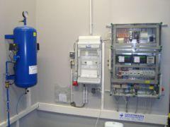 Steuerung einer pneumatischen Abwasserpumpstation in Bayern