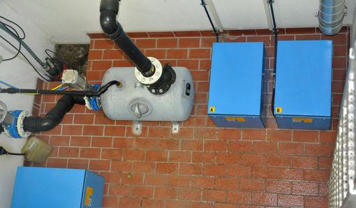 Oekermann Abwassertechnik - 1-Kessel-Doppelanlage - Draufsicht